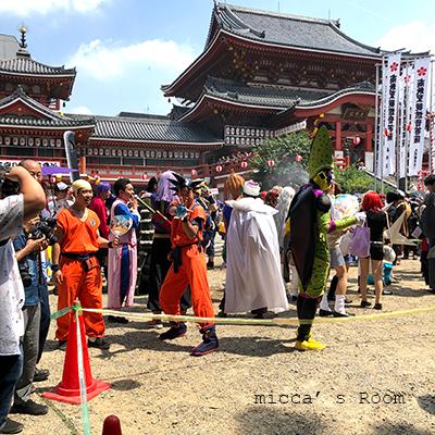 名古屋 大須夏祭りの風景_b0245038_14103113.jpg