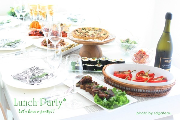Lunch Party*_c0193245_21550782.jpg