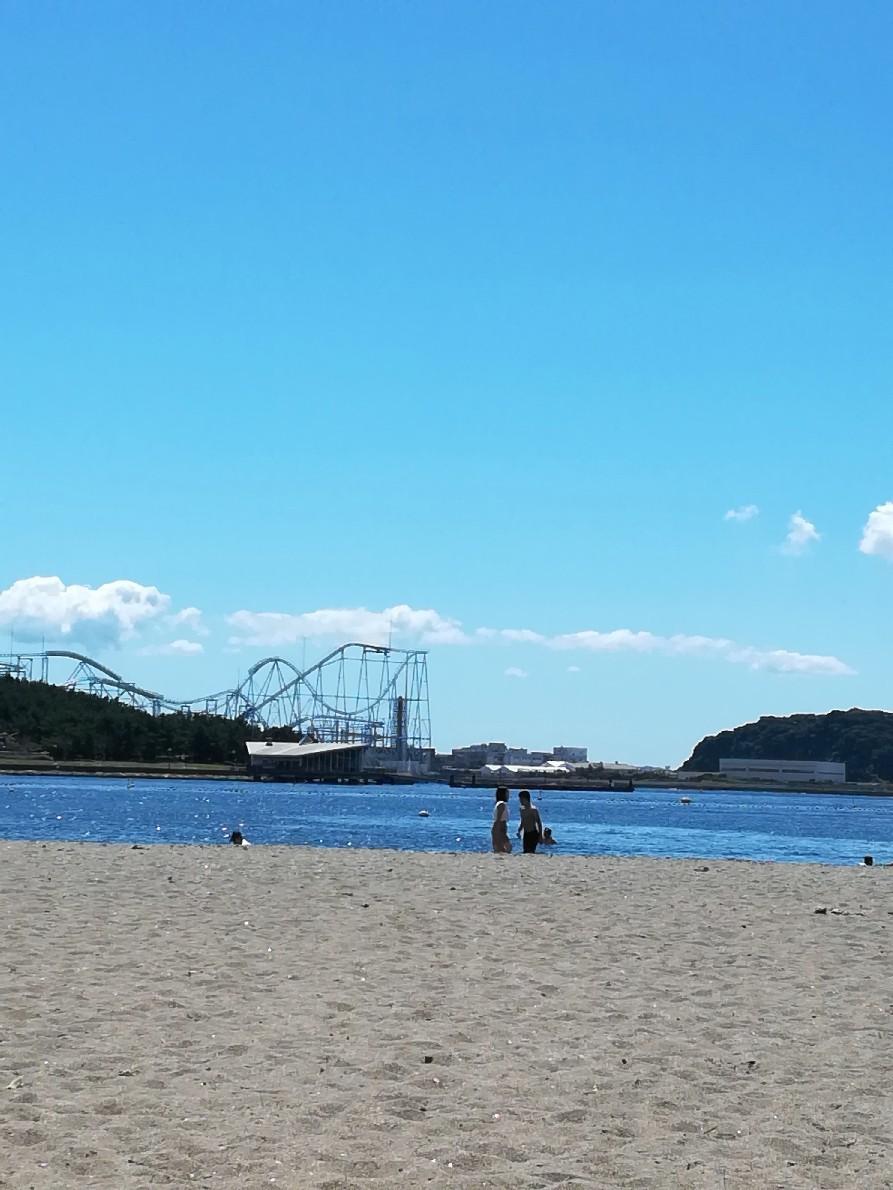 海の公園で2018年最後の海水浴_e0109163_22204065.jpg