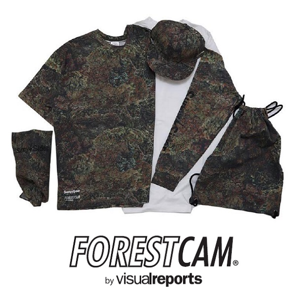 "【先行予約】visualreports × SUNNY C SIDER ""FORESTCAM CAPSULE COLLECTION""_d0175064_2394496.jpg"