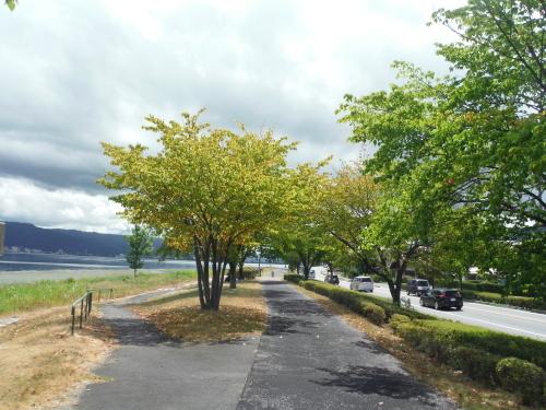 諏訪湖 岡谷ポタリング_b0332867_21212954.jpg