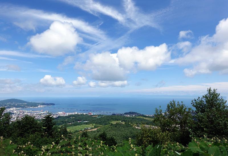 夏の雲と秋の雲_e0100772_23455283.jpg