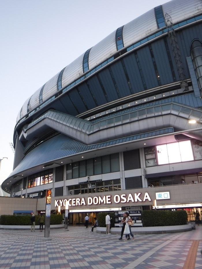 ◆京セラ大阪ドームプロ野球観戦 ~正しい野球観戦の仕方♪~_f0238779_20520913.jpg