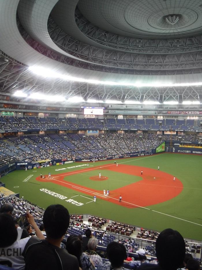 ◆京セラ大阪ドームプロ野球観戦 ~正しい野球観戦の仕方♪~_f0238779_20522824.jpg