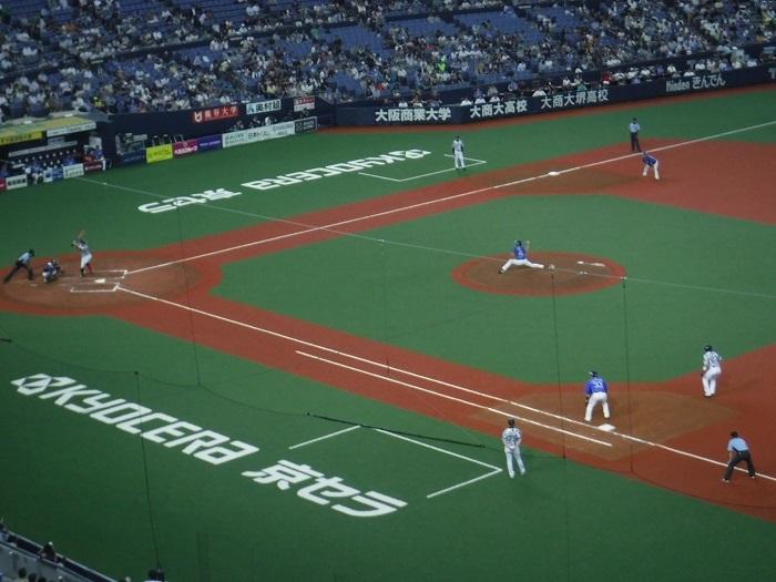 ◆京セラ大阪ドームプロ野球観戦 ~正しい野球観戦の仕方♪~_f0238779_20525236.jpg
