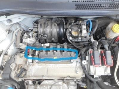 フィアット500 POP 車検整備(ウインカーバルブ交換、プラグ交換他)_c0267693_17421558.jpg