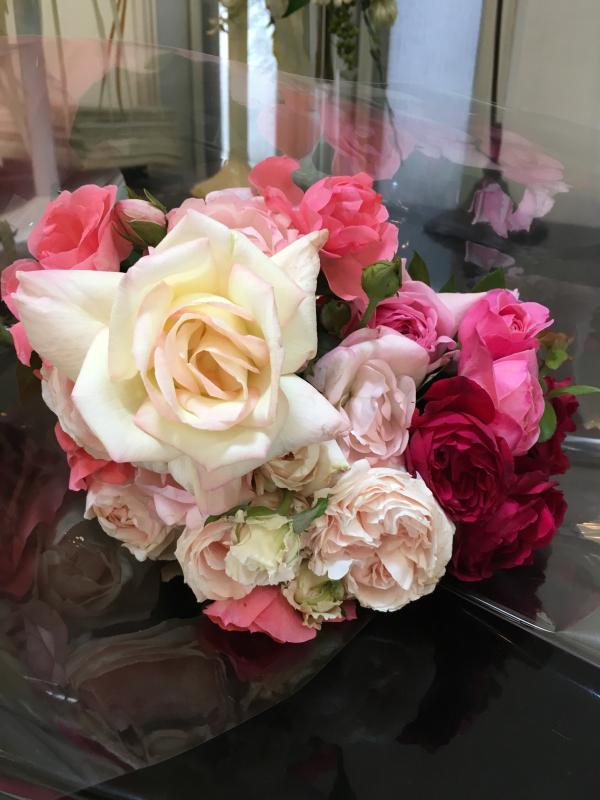 真夏の薔薇に感謝  HT  Rose 「 魅惑 」_c0195496_12060949.jpg