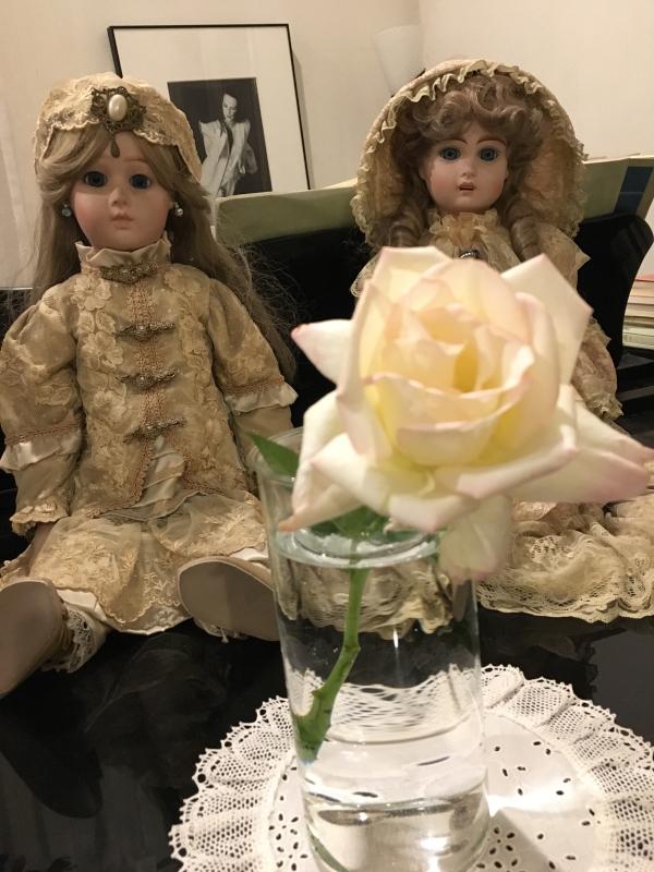 真夏の薔薇に感謝  HT  Rose 「 魅惑 」_c0195496_12095416.jpg