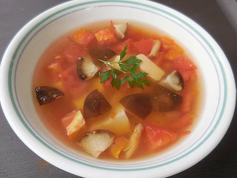 豆腐とトマトのタイ風スープ_d0020309_00481003.jpg