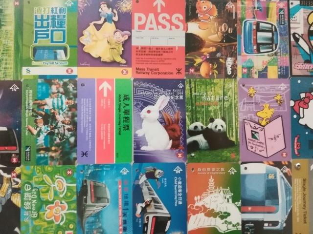 港鐵展廊入口のチケットコレクション_b0248150_09432697.jpg