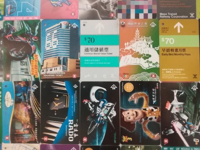 港鐵展廊入口のチケットコレクション_b0248150_09454765.jpg
