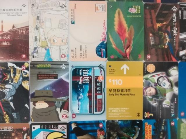 港鐵展廊入口のチケットコレクション_b0248150_09481160.jpg