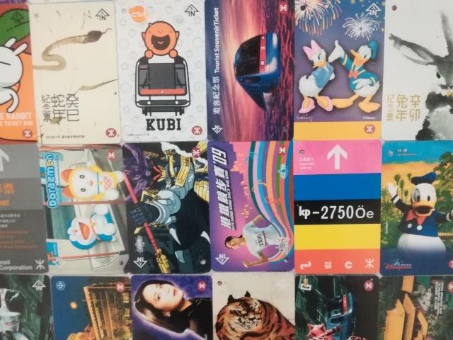 港鐵展廊入口のチケットコレクション_b0248150_09514987.jpg
