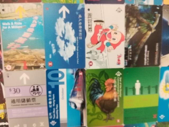 港鐵展廊入口のチケットコレクション_b0248150_09541297.jpg