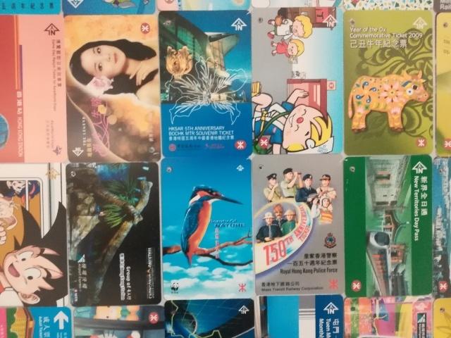 港鐵展廊入口のチケットコレクション_b0248150_09553266.jpg