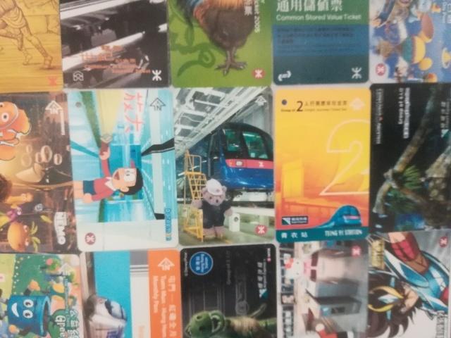 港鐵展廊入口のチケットコレクション_b0248150_09582913.jpg