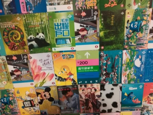 港鐵展廊入口のチケットコレクション_b0248150_10021826.jpg