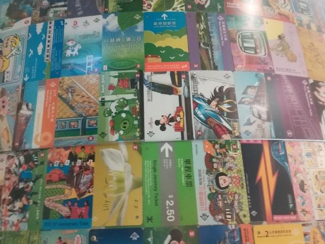 港鐵展廊入口のチケットコレクション_b0248150_10045494.jpg