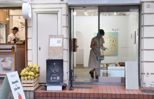 上西 慶子 絵画展 絵水浴 @ 最終日_e0272050_14125158.jpg