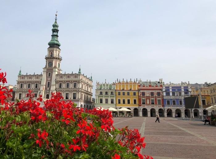 ポーランドの旅 17  イタリアルネッサンスの街 ザモシチ_a0092659_20274367.jpg