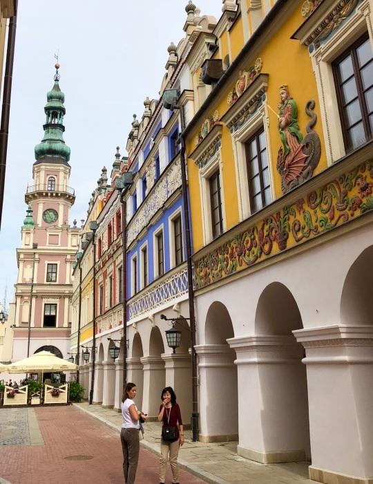ポーランドの旅 17  イタリアルネッサンスの街 ザモシチ_a0092659_20304258.jpg