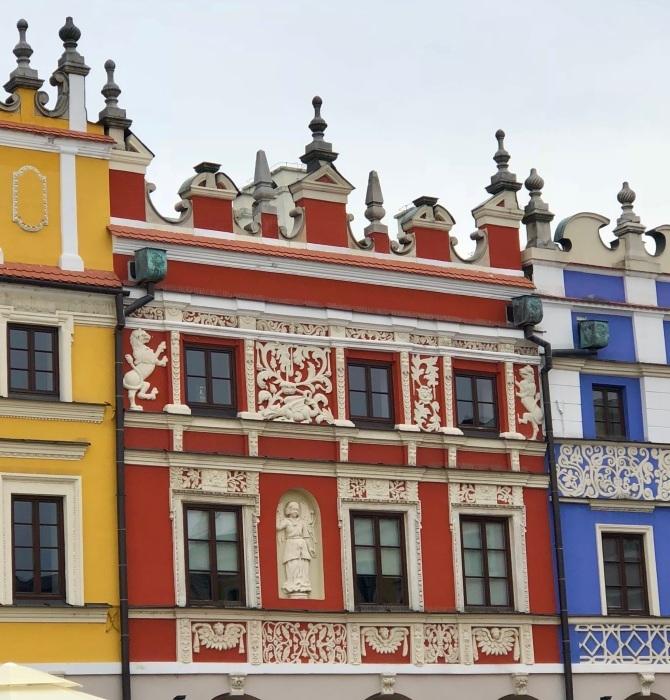 ポーランドの旅 17  イタリアルネッサンスの街 ザモシチ_a0092659_22403805.jpg