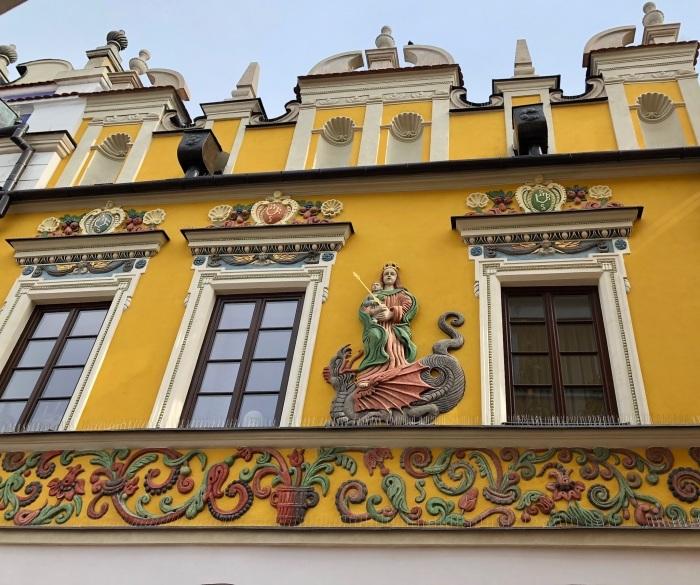 ポーランドの旅 17  イタリアルネッサンスの街 ザモシチ_a0092659_22561487.jpg