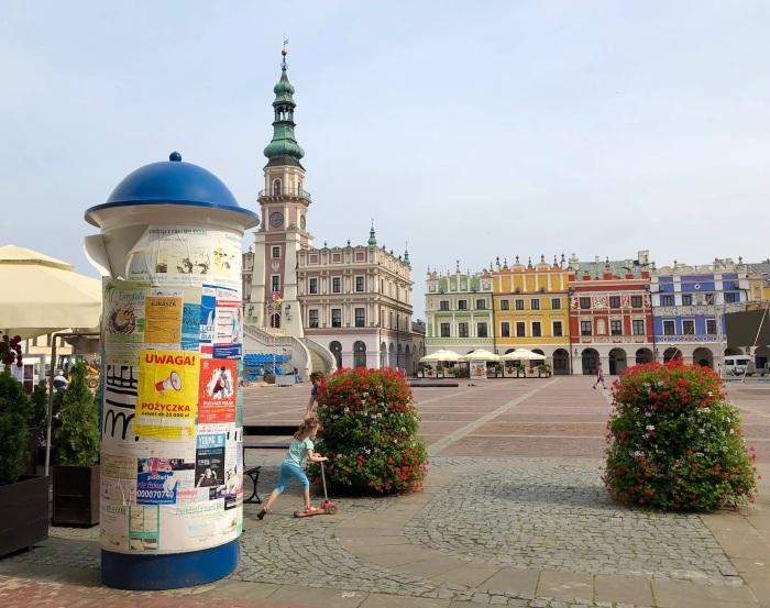 ポーランドの旅 17  イタリアルネッサンスの街 ザモシチ_a0092659_22594589.jpg