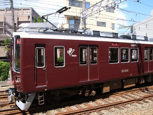 阪急8040系 正雀回送_d0202264_14364180.jpg
