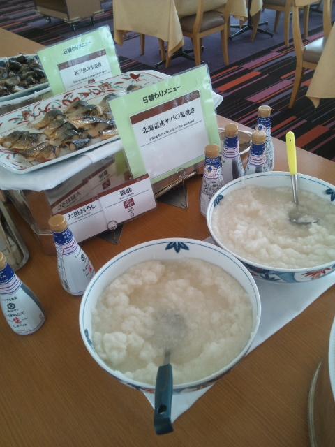 釧路プリンスホテル 朝食ブッフェ_f0076001_22522551.jpg