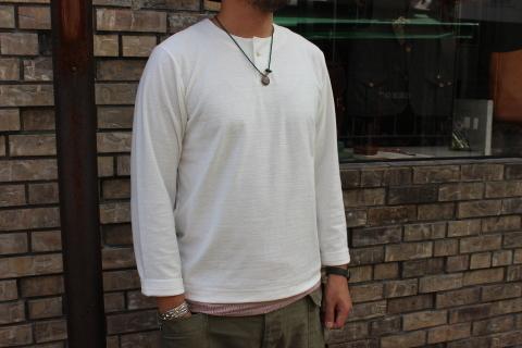 "Jackman \""別注 Henleyneck L/S T-shirt\"" ご紹介_f0191324_08214665.jpg"