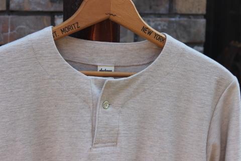 "Jackman \""別注 Henleyneck L/S T-shirt\"" ご紹介_f0191324_08225839.jpg"