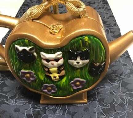 猫の紋紗の着物と、猫のバッグで、織屋さんの展示会へ_f0181251_18163581.jpg