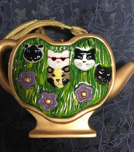 猫の紋紗の着物と、猫のバッグで、織屋さんの展示会へ_f0181251_18172457.jpg