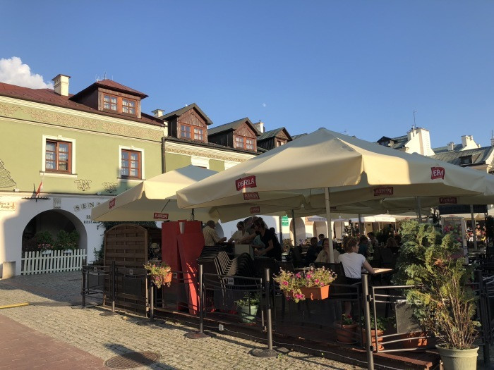 ポーランドの旅 17  イタリアルネッサンスの街 ザモシチ_a0092659_01192517.jpg