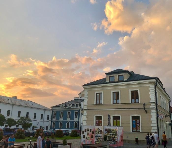 ポーランドの旅 17  イタリアルネッサンスの街 ザモシチ_a0092659_01202088.jpg