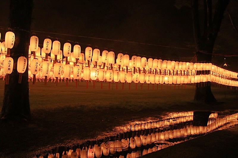 万灯みたま祭@護国神社・3♪_a0167759_0434349.jpg