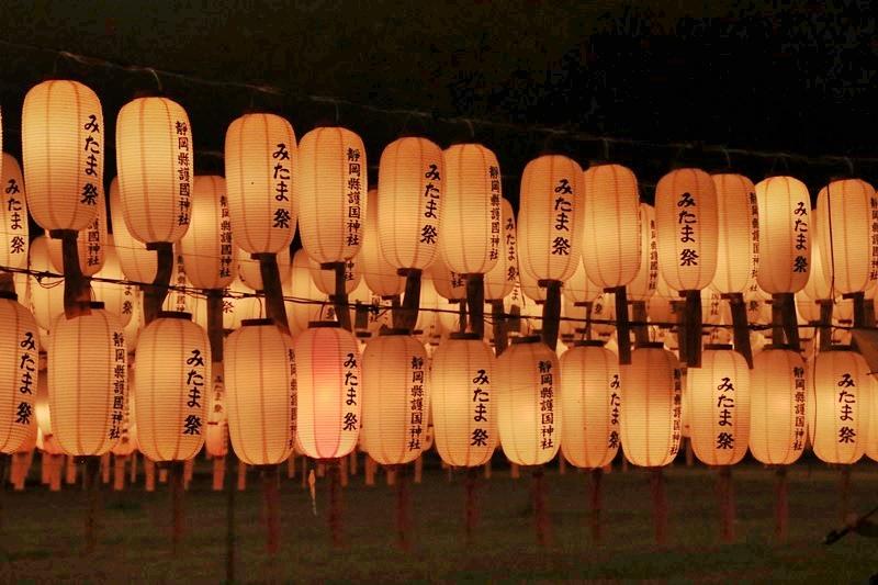 万灯みたま祭@護国神社・3♪_a0167759_1151445.jpg