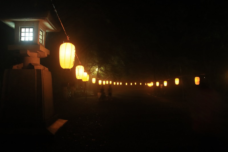 万灯みたま祭@護国神社・3♪_a0167759_1264819.jpg