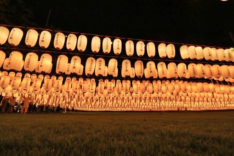 万灯みたま祭@護国神社・3♪_a0167759_181610.jpg