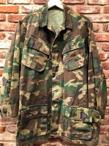 "Late 1960s "" U.S.M.C \"" - STENCIL付 - ERDL CAMO JUNGLE FATIGUE JACKET ._d0172088_16523719.jpg"