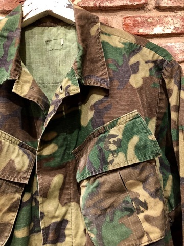 "Late 1960s "" U.S.M.C \"" - STENCIL付 - ERDL CAMO JUNGLE FATIGUE JACKET ._d0172088_16525498.jpg"