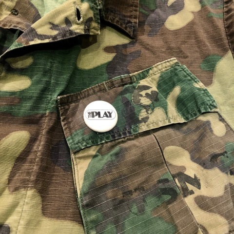 "Late 1960s "" U.S.M.C \"" - STENCIL付 - ERDL CAMO JUNGLE FATIGUE JACKET ._d0172088_19355067.jpg"