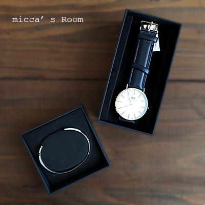 ダニエル・ウェリントンの腕時計 クラシックサマセット_b0245038_19005726.jpg