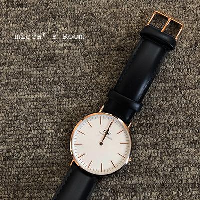 ダニエル・ウェリントンの腕時計 クラシックサマセット_b0245038_19005731.jpg