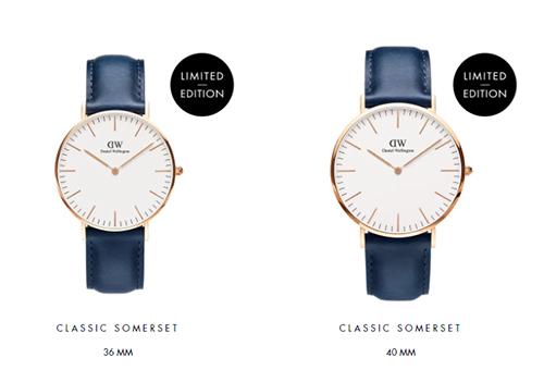 ダニエル・ウェリントンの腕時計 クラシックサマセット_b0245038_19195265.jpg