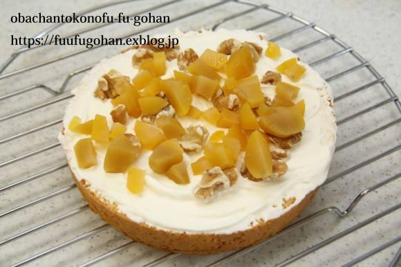 休日のキッチンデートは、ケーキ作り(o^^o)_c0326245_13264696.jpg
