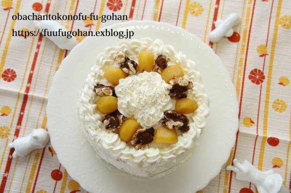 休日のキッチンデートは、ケーキ作り(o^^o)_c0326245_13274567.jpg