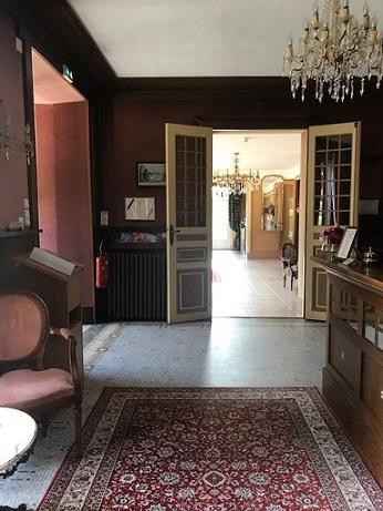 猫の紋紗の着物と、猫のバッグでフランスお城のホテルへ_f0181251_18251628.jpg