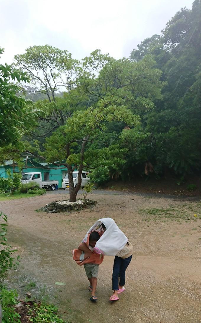 台風と夏休み_e0220493_2010425.jpg